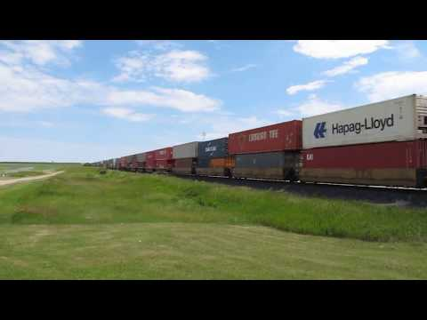 Loud & Fast Canadian Pacific Rail - Intermodal Freight Load