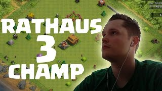 [facecam] RATHAUS 3 CHAMP! || CLASH OF CLANS || Let's Play CoC [Deutsch/German HD]