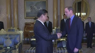 prince william meets china s president xi jinping