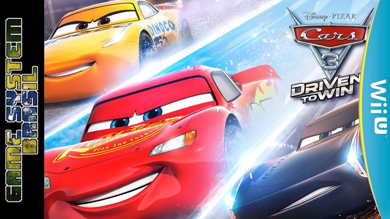 Cars 3 Driven To Win Wii U Carros 3 Correndo Para Vencer