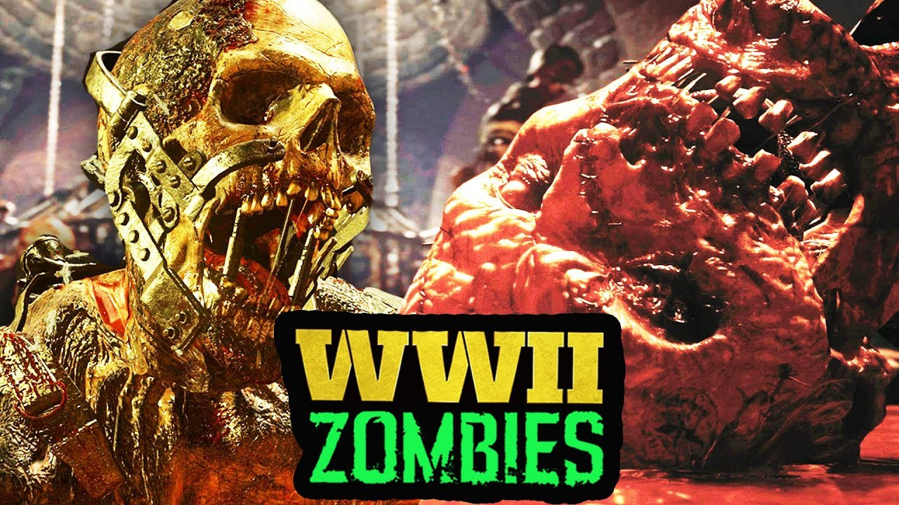 THE SCARIEST ZOMBIES EVER – WHAT MAKES ZOMBIES SCARY? (WW2 Zombies)
