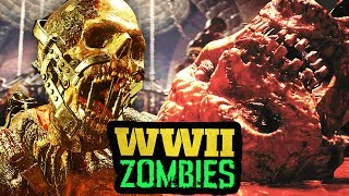 THE SCARIEST ZOMBIES EVER - WHAT MAKES ZOMBIES SCARY? (WW2 Zombies)