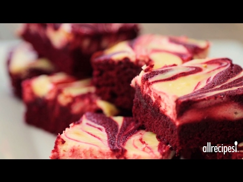How to Make Red Velvet Cheesecake Swirl Brownies | Valentine Recipes | Allrecipes.com