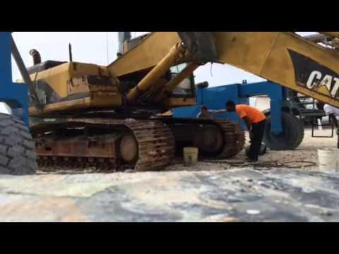 Replacing Slew Bearing 20t Excavator Funnydog Tv