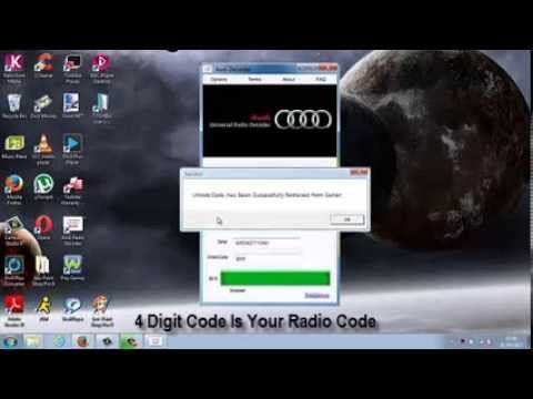 How To Unlock Audi Radio Code Blaupunkt Bose Concert