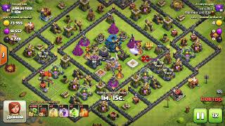 Tricky attack by Goblins in Clash of Clans