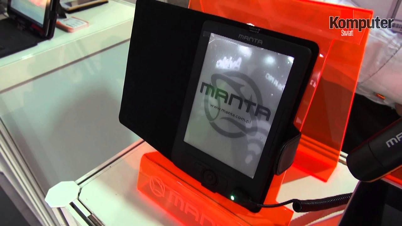 IFA 2013 Polska firma Manta na targach w Berlinie zaprezentowała multimedialną tablicę