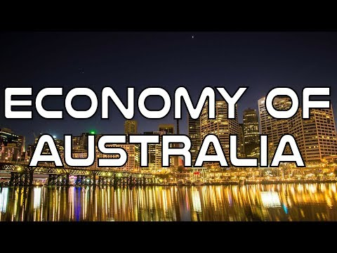 Economy Of Australia Crash Course