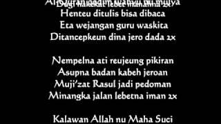 Syi'ir Tanpo Waton versi Sunda - Kyai Maman