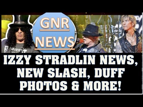 Guns N' Roses News  Izzy Stradlin News:Rare Pic, New Slash and Duff Photos & More!
