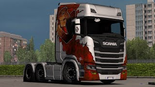 [1.33] Euro Truck Simulator 2 | Scania S&R Low Chassis | Mods