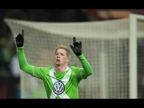 Wolfsburg vs Inter 2-1 12/03/2015 GOAL Kevin de Bruyne