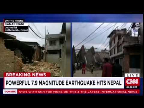 CNN Report | Nepal Earthquake 2015 - YouTube