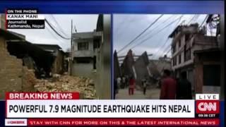 CNN Report | Nepal Earthquake 2015