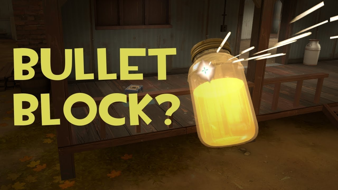 Can Projectiles Block Bullets? - TF2