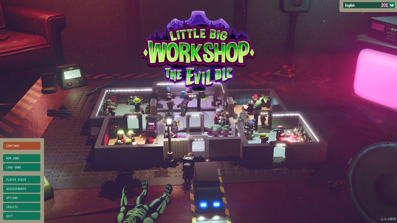 Little big workshop - the evil dlc walkthrough