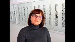 Bild Nr. 9 am Kunstadventkalender in Lienz zeigt ein Werk von Professor Herwig Zens
