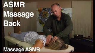 ASMR Massage Back to Relax