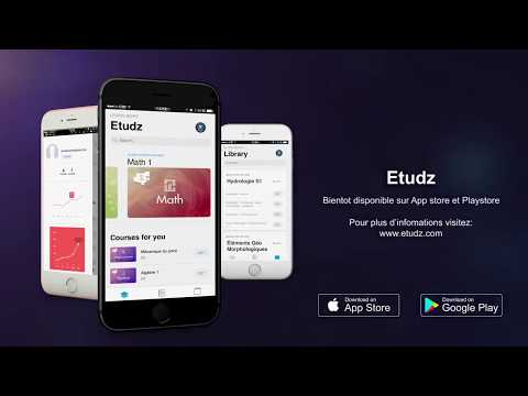 Etudz lance sa nouvelle Application E-learning