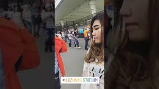 Via Vallen- Nonton Final Bola Piala Dunia 2018