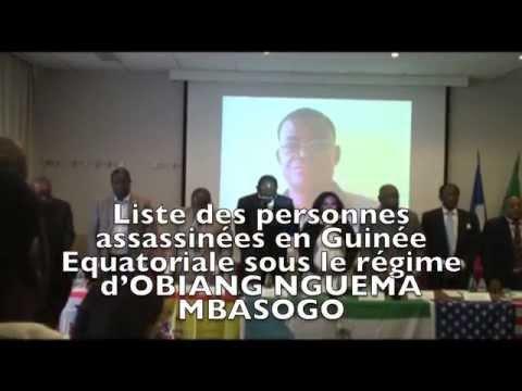 ANNIVERSAIRE DU DICTATEUR OBIANG NGUEMA MBASOGO