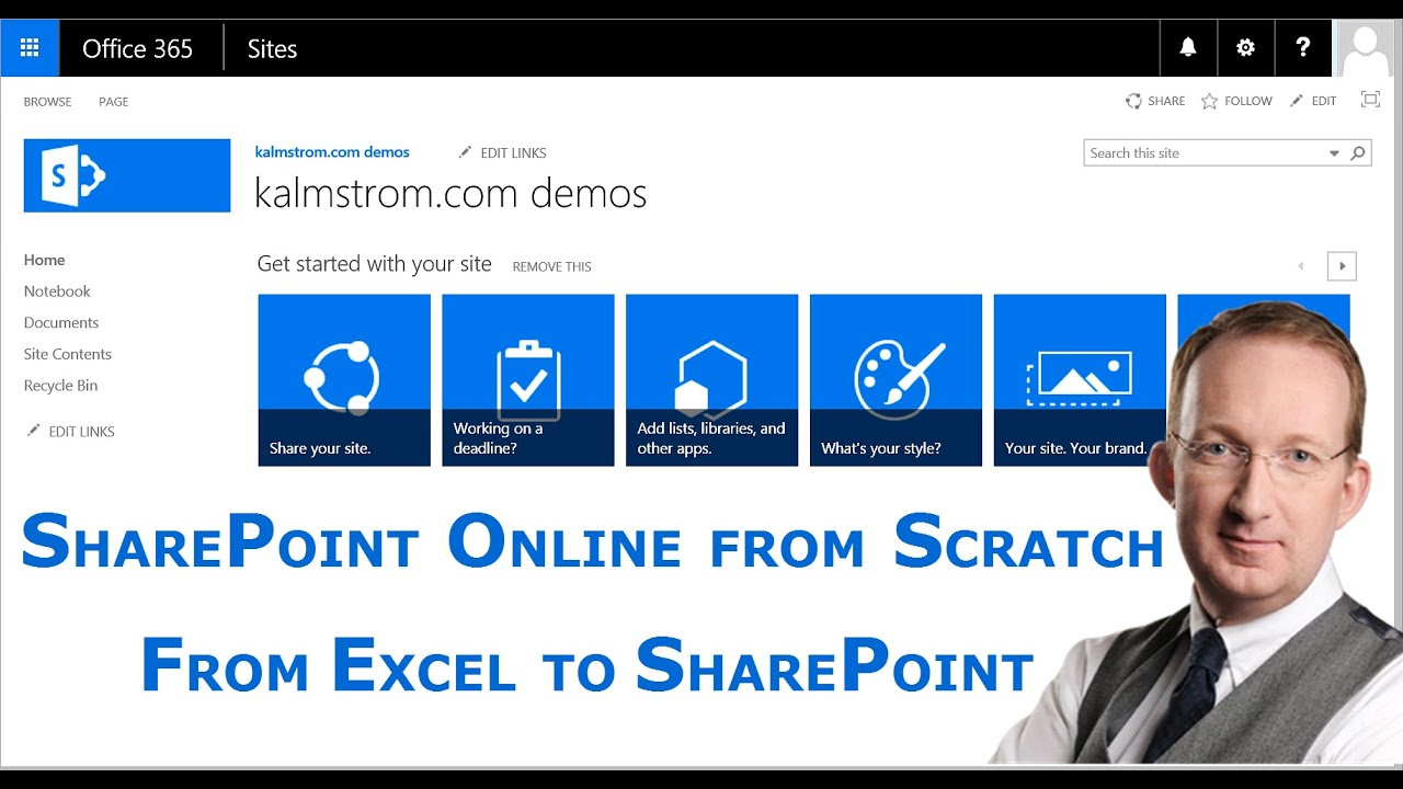 Export an Excel table to a SharePoint list- a SharePoint
