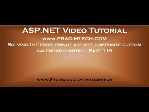 Solving The Problems Of Asp Net Composite Custom Calendar Control   Part 115
