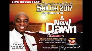 Shiloh Thanksgiving Service (Sunday 1st Service) 10th December 2017)