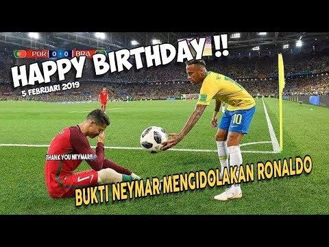 Happy Birthday Ronaldo ⚠️ LIHAT ‼️Momen Haru Serta 8 Kesamaan Antara Ronaldo Dengan Neymar
