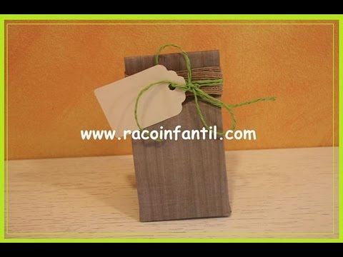 0d9cca03a Ideas para decorar bolsas de papel: Parte I (www.racoinfantil.com ...