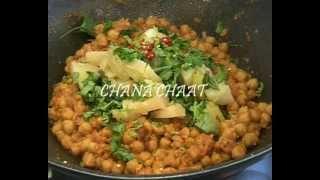 """"""" CHANA CHAAT II """" Bajias Cooking"""