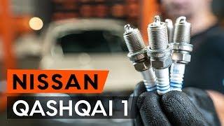 Cómo cambiar Bujías NISSAN QASHQAI / QASHQAI +2 (J10, JJ10) - vídeo gratis en línea