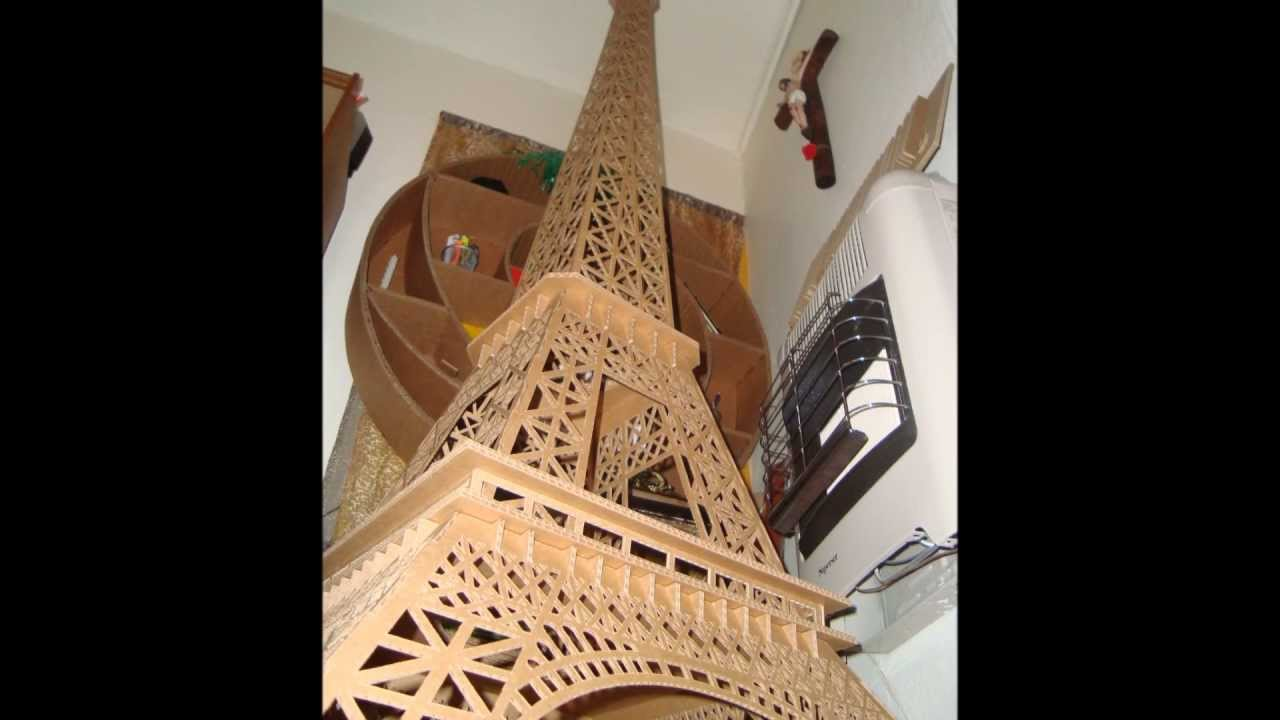 TORRE EIFFEL DE CARTOON - YouTube