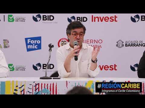 """Video """"Barranquilla se ha convertido en el ancla de la Región Caribe"""", presidente del BID"""
