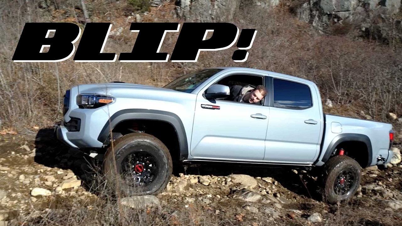 Here S How The 2017 Toyota Tacoma Trd Pro Fares Against A Jeep Wrangler Off Road Blip You