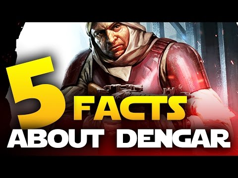Star Wars Battlefront Top 5 Facts About Dengar That You Didn't Know! Road to Bespin DLC!