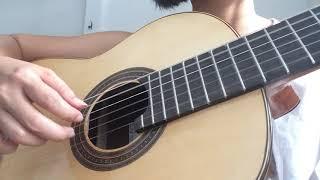 Love is blue | André Popp | guitar | Kim Thoa