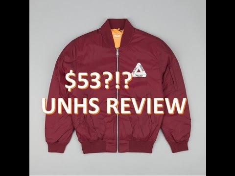 a7c61f78ddbd Palace Burgundy Thinsulate Bomber Review (UNHS) - YouTube
