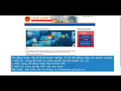 Cách nộp tờ khai và nộp tiền thuế bằng Google Chrome trên thuedientu.gdt.gov.vn