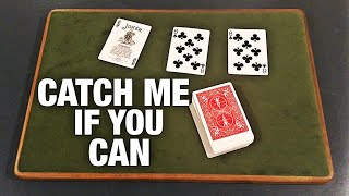 Catch Me if You Can- INSANE Card Trick REVEALED