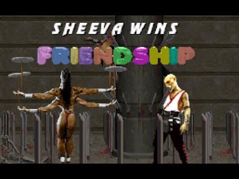 Mortal Kombat Trilogy - All Friendships