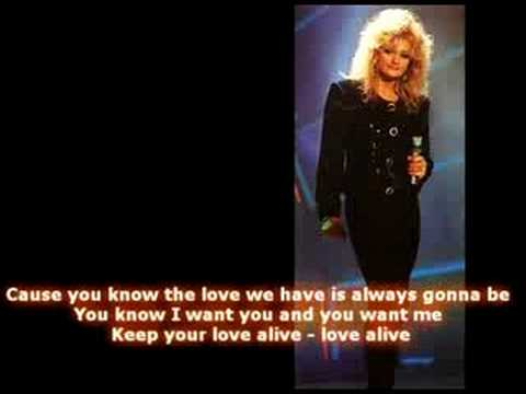 Bonnie tyler keep your love alive
