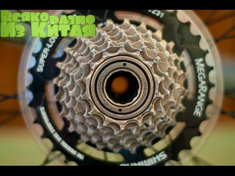 Как снять звездочки с заднего колеса скоростного велосипеда видео
