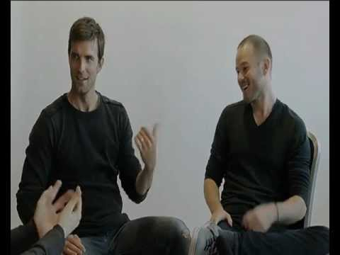 MCM Expo London Comic Con MCM Buzz Lucas Bryant and Aaron Ashmore Interview