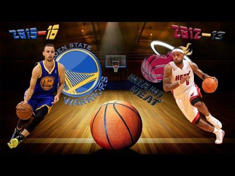 2015–16 Golden State Warriors vs 2012–13 Miami Heat Top 10 Win Streak's Plays
