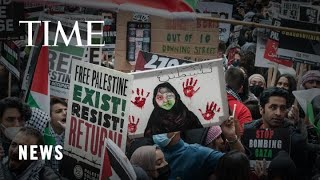 Demonstrations Across the World in Support of Palestinians