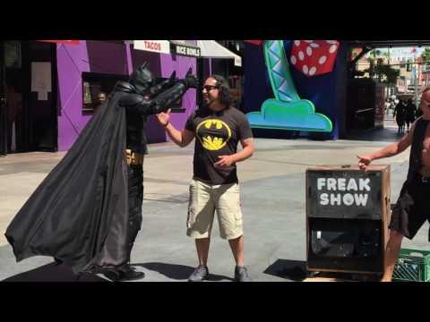 "Fremont Street Experience ""Freak Show"""