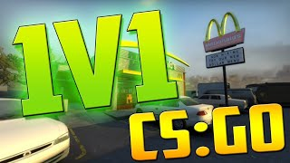 CS:GO | 1v1 | 360 No Scope !!!