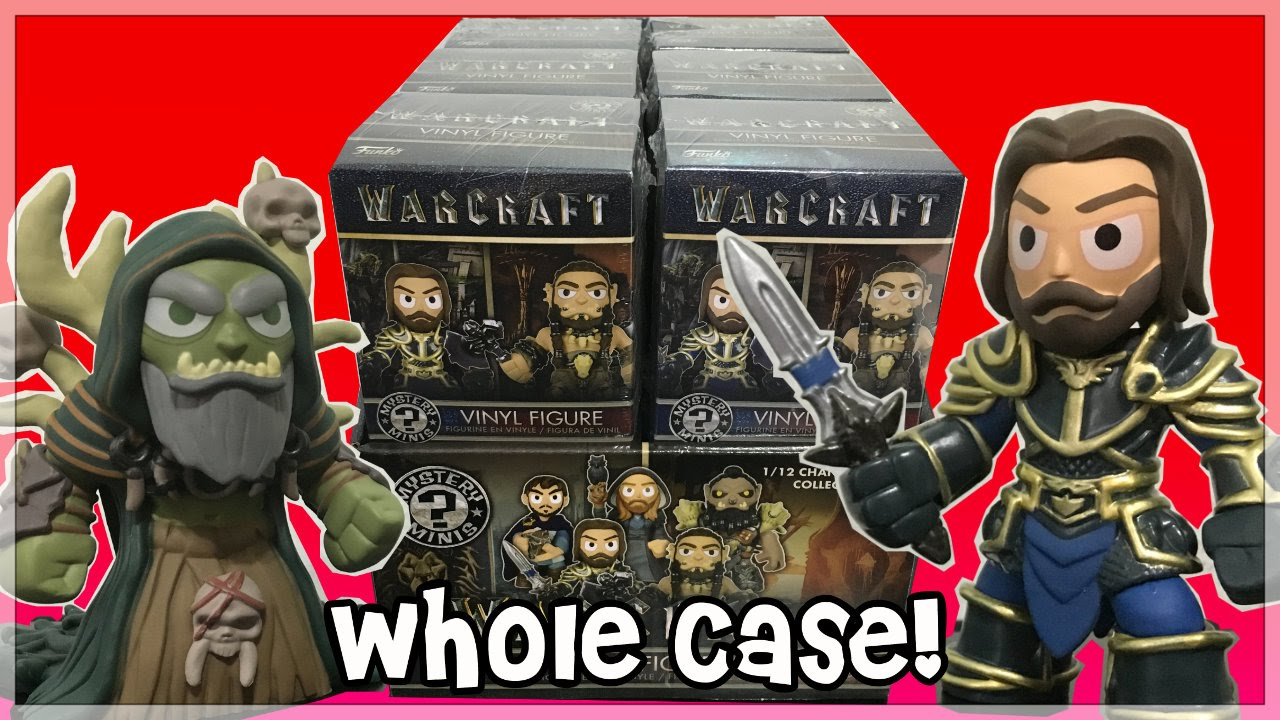 Warcraft Mystery Minis Case Opening New Funko Movie