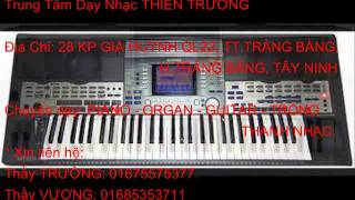 """Nữa Vầng Trăng - Mr: Đàm """" Đào Tạo Nhạc Công Organ, Guitar - Trảng Bàng"""" thầy TRƯỜNG 01675575377"""
